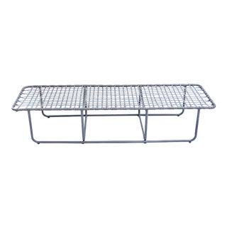 Mid Century Brown Jordan Kantan Tamiami Lounger Bench