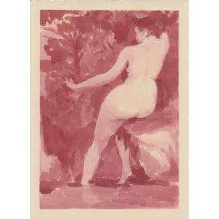 Figurative Original Painting of Female Nude For Sale