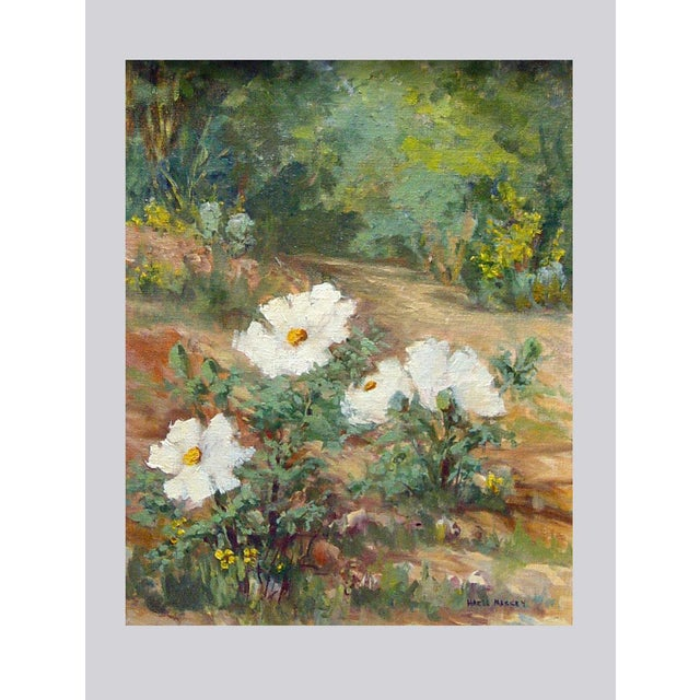 Impressionism Texas Wildflowers by Hazel Massey For Sale - Image 3 of 4