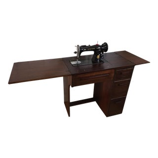 Singer 15-91 Sewing Machine and Cabinet