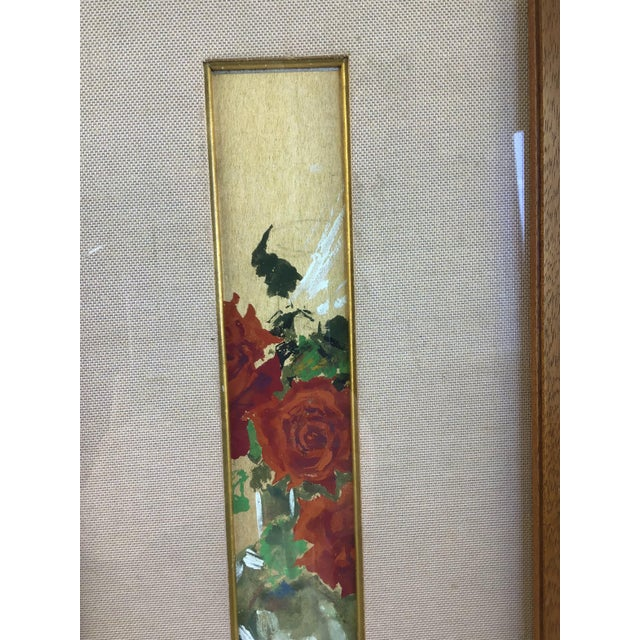 1950s Framed Still Life Oil Painting For Sale - Image 4 of 9