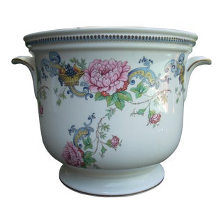 Vintage Staffordshire Crown Cachepot For Sale