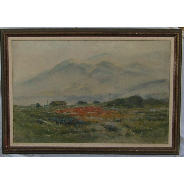 Antique Original Landscape by Maxwell Robertson - Image 3 of 7