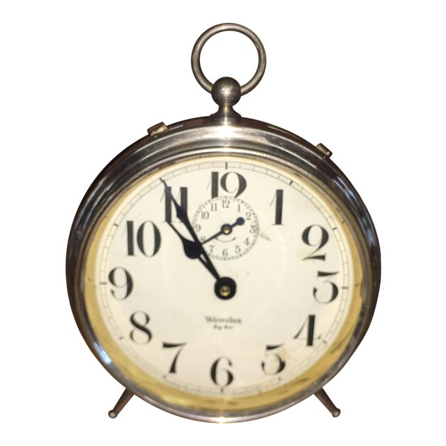 1930s Vintage Westclox Big Ben Peg Leg Alarm Clock For Sale