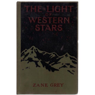 "1914 ""The Light of Western Stars"" Book"
