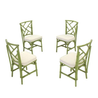 Faux Bamboo Rattan Dining Set- 5 Pieces Preview