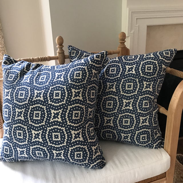 Raoul Textiles Linen Pillows - A Pair - Image 8 of 8