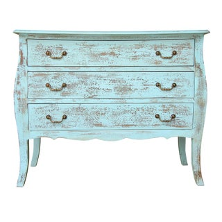 Gilbert Three Drawer Chest With Cabriole Legs For Sale
