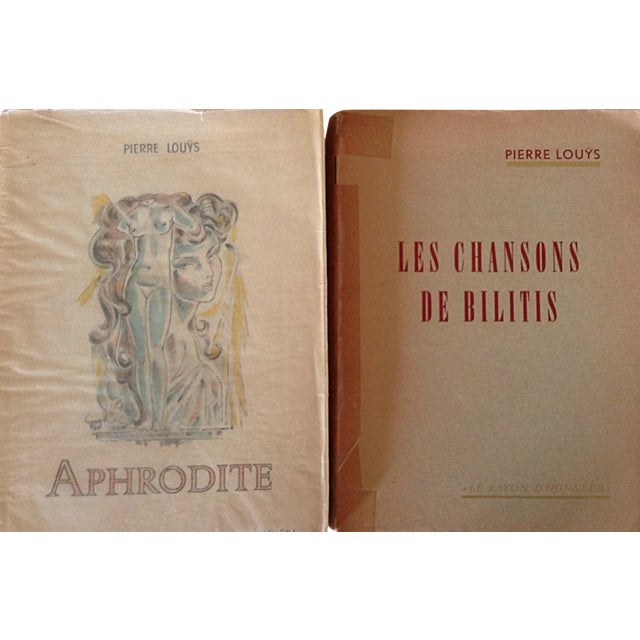 French Erotica Books by Pierre Louys - A Pair - Image 1 of 5