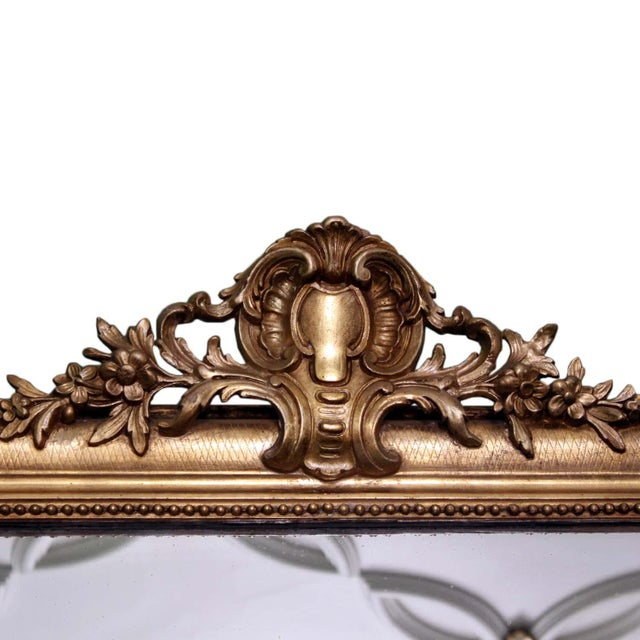 Louis Philippe Giltwood Mirror - Image 4 of 4