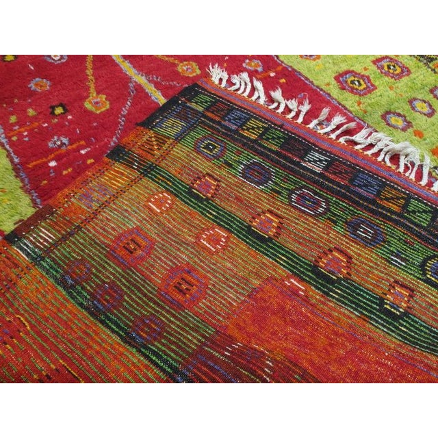"""Festive """"Tree-of-Life"""" Rug For Sale - Image 9 of 9"""