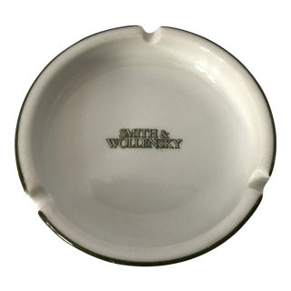Vintage Smith & Wollensky Ashtray For Sale