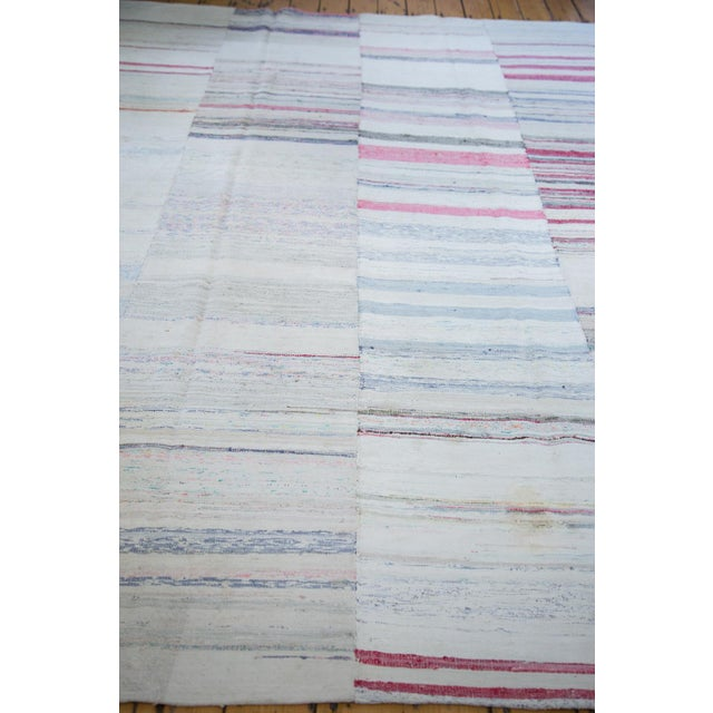 "Vintage Rag Rug Carpet - 7'7"" X 10'9"" - Image 3 of 4"