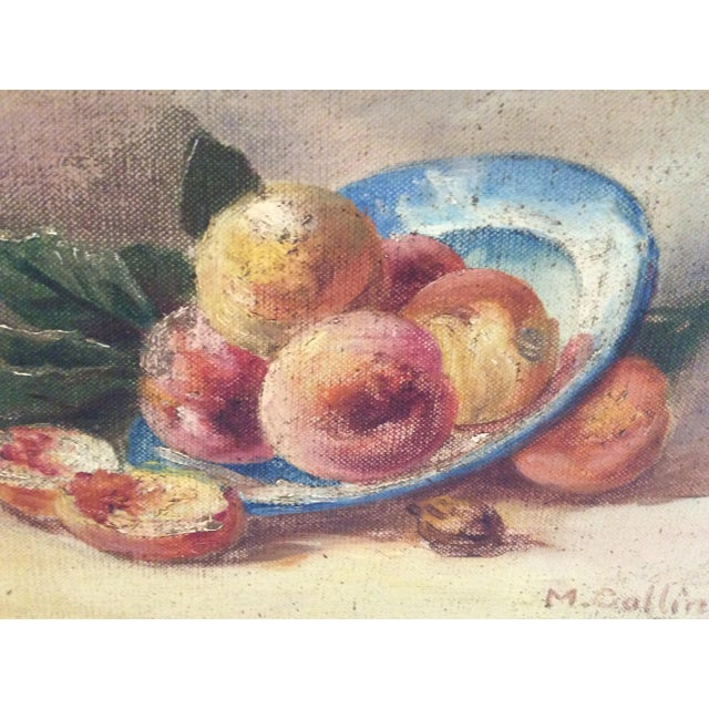 """""""Fruit"""" Still Life Oil Painting - Image 3 of 7"""