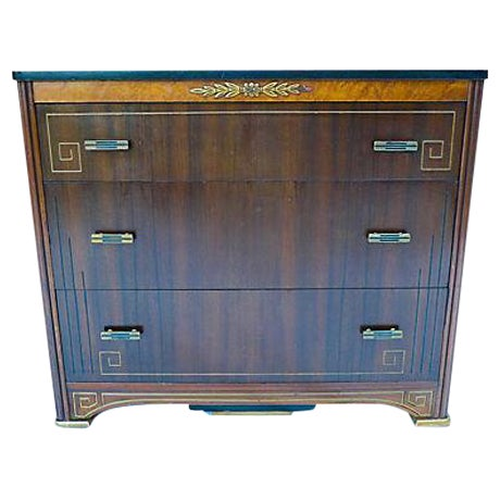 French Art Deco Style Apartment Size Dresser - Image 1 of 9