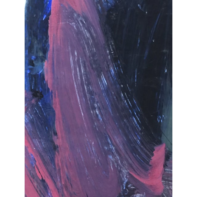 1960's Mid Century Modern Abstract Painting - Image 4 of 4