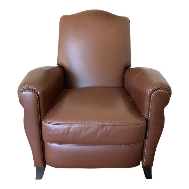 Amazing Ethan Allen Leather Recliner Chair Short Links Chair Design For Home Short Linksinfo