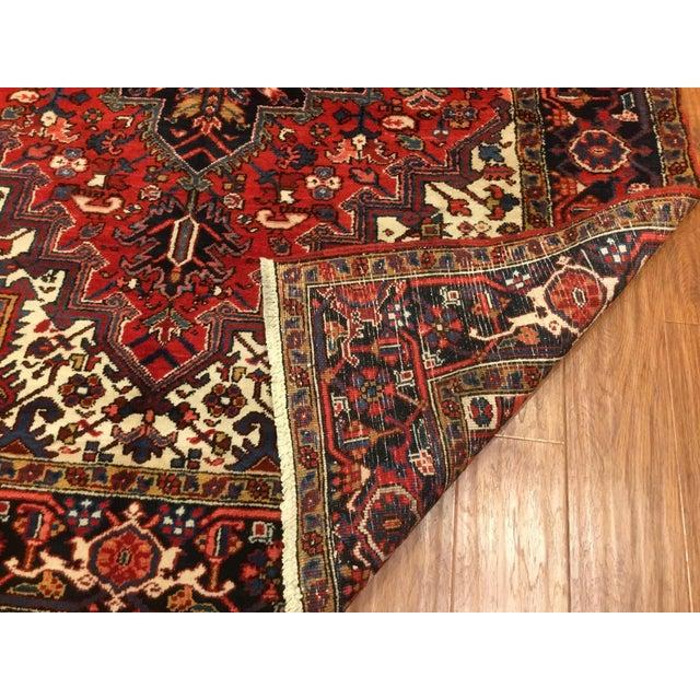 "Vintage Persian Heriz Rug - 6' x 8'5"" - Image 5 of 6"