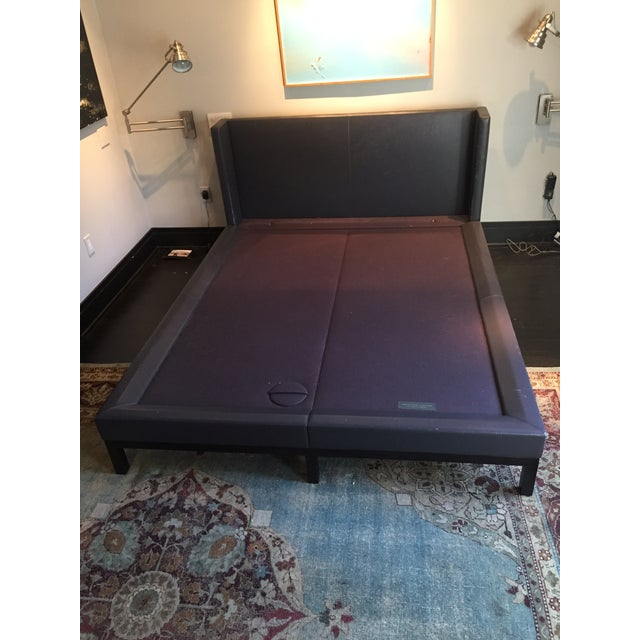 Christian Liaigre for Holly Hunt Leather Platform Bed - Image 7 of 7