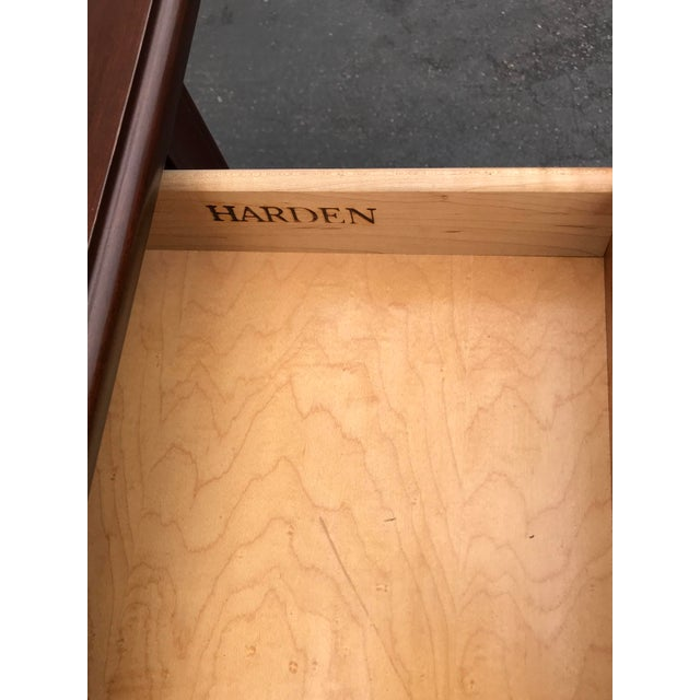 Burnt Umber Harden Chippendale Sofa Table Credenza With Benches a Pair For Sale - Image 8 of 13