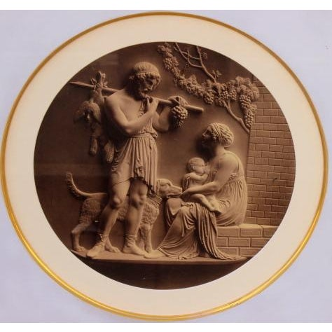 Antique Classical Lithographs - A Pair - Image 4 of 4
