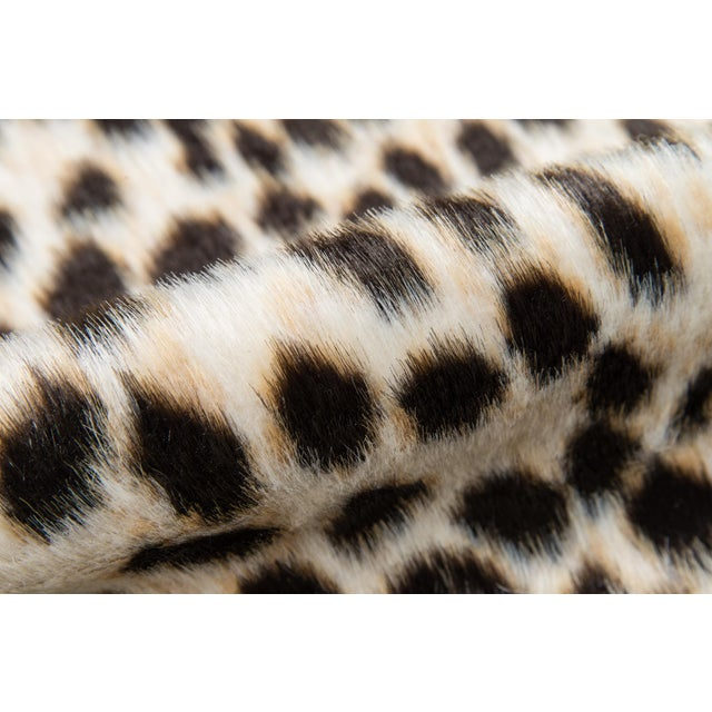 """Erin Gates by Momeni Acadia Cheetah Multi Faux Hide Area Rug - 5'3"""" X 7'10"""" For Sale - Image 4 of 8"""