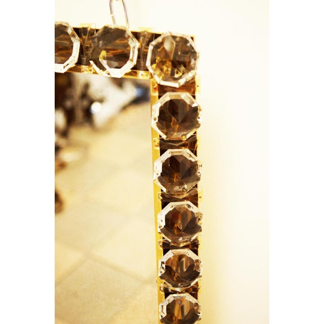1960s Vintage crystal mirror by Bakalowits & Sohne For Sale - Image 5 of 11