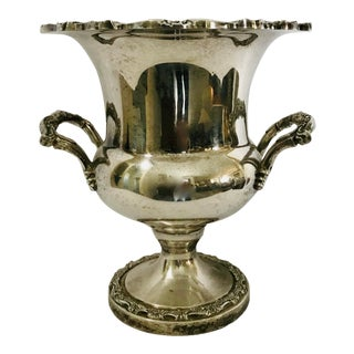 1960s Vintage Silver Plated Ice / Champagne Bucket For Sale