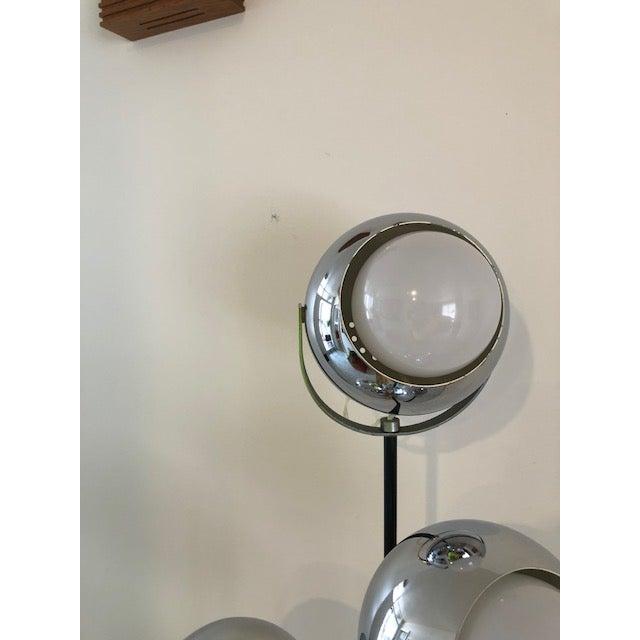 Goffredo Reggiani Cinematic Eyeball Floor Lamp, 1960s | Chairish