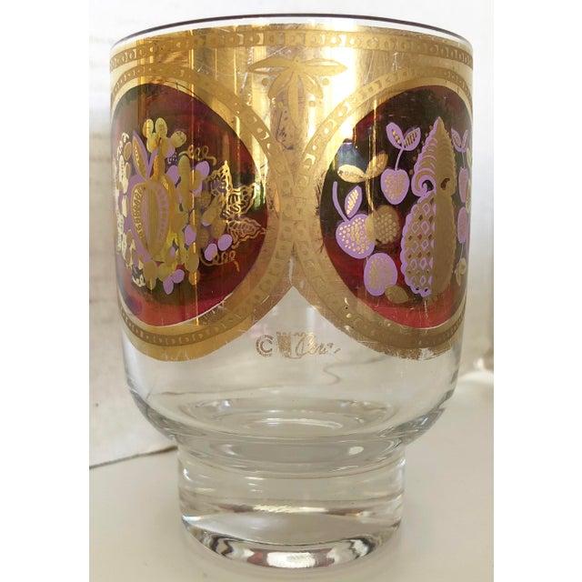 Whiskey Glasses/22 K Gold trim - Set Of 9 - Image 5 of 6