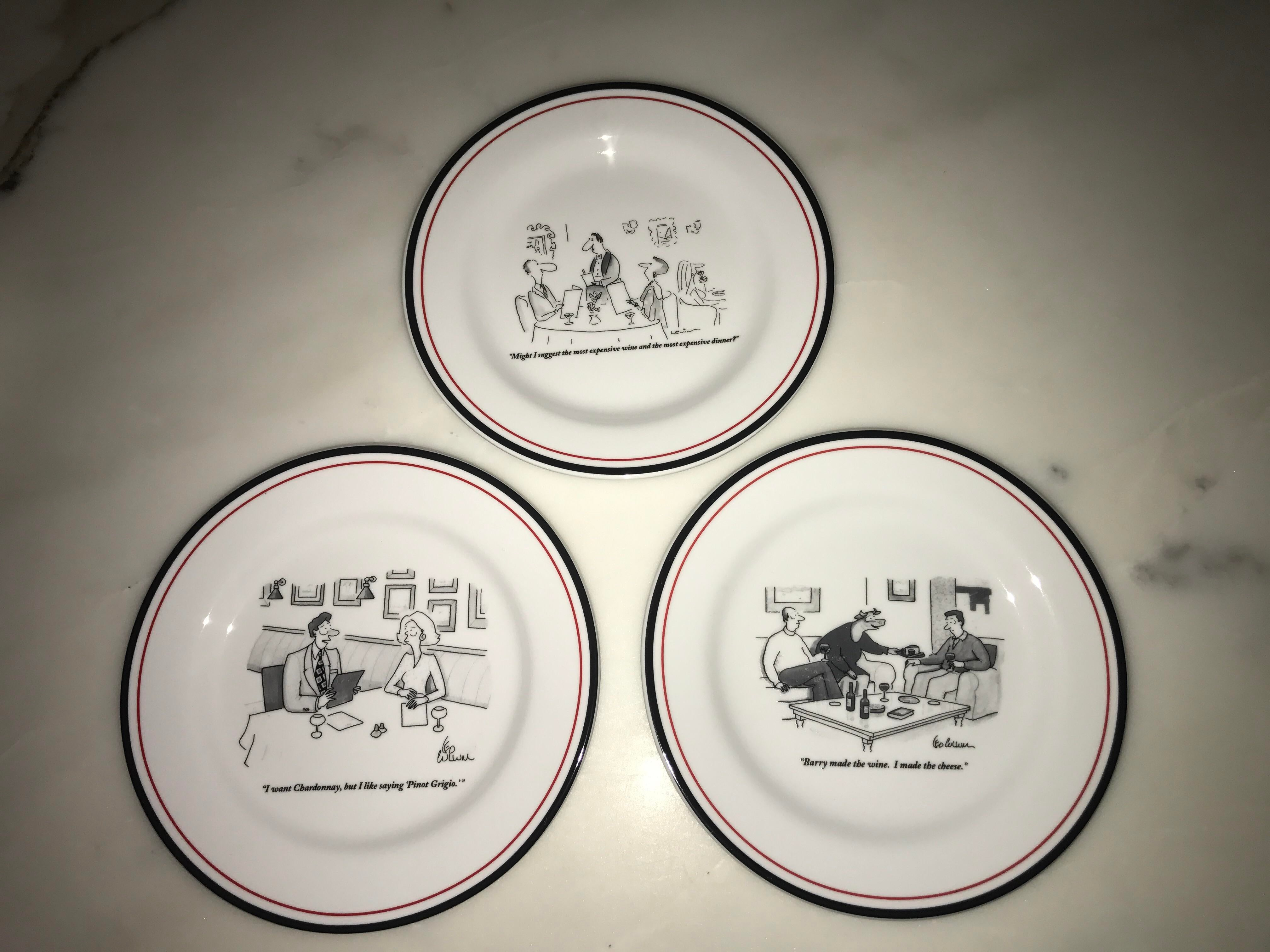 Restoration Hardware The New Yorker Cheese Plates - Set of 6 - Image 4 of 7  sc 1 st  Chairish & Restoration Hardware The New Yorker Cheese Plates - Set of 6 | Chairish