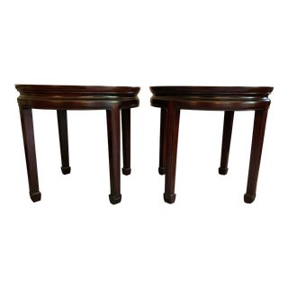 Chinese Rosewood Side Tables - a Pair For Sale