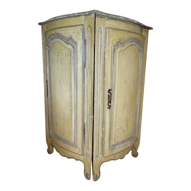 Pair of French Corner Cabinets For Sale