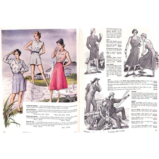 Traditional Abercrombie & Fitch Play Hours 1953 Catalog For Sale - Image 3 of 8