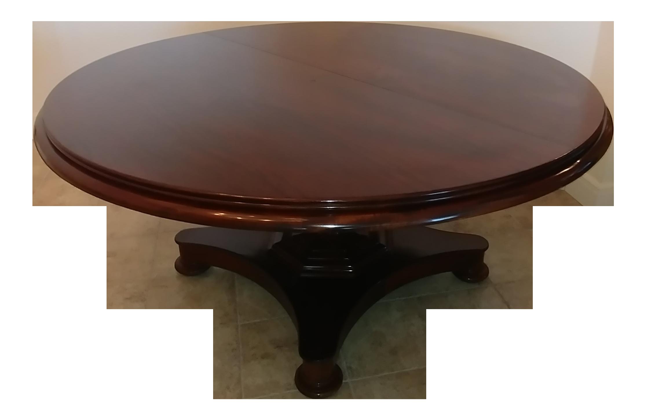 Robert Lieghton Solid Mahogany Dining Table