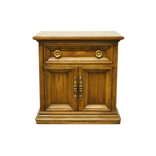 20th Century Traditional Drexel Heritage Vanessa Collection Cabinet Nightstand For Sale