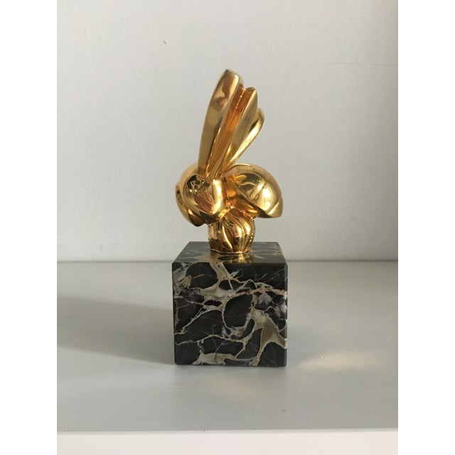 Metal 1970s Vintage G. Lachaise Brass Bee Sculpture For Sale - Image 7 of 12
