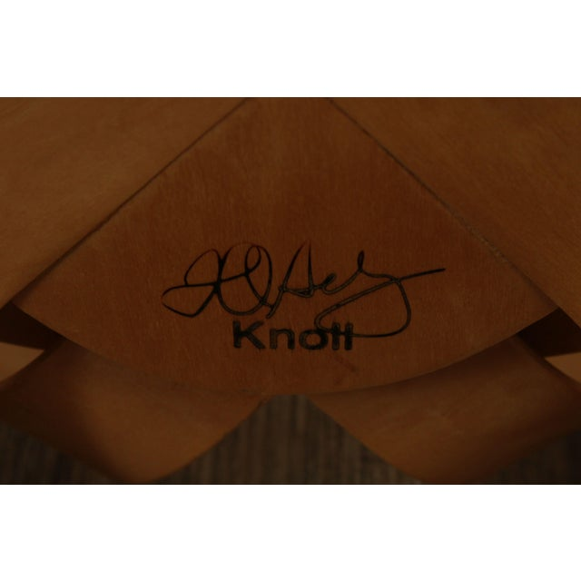 "Frank Gehry for Knoll Bent Wood Pair ""Har Trick"" Chairs For Sale - Image 12 of 13"