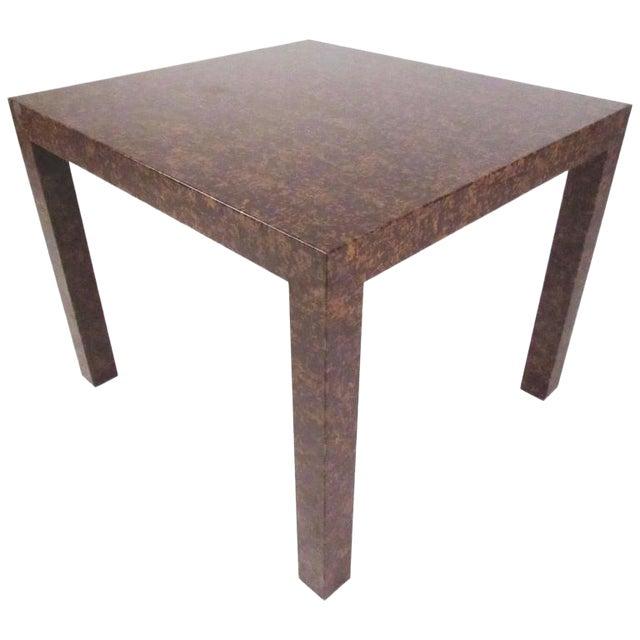 purchase cheap 0cbf9 b9614 Mid-Century Modern Edward Wormley Style Parsons Side Table