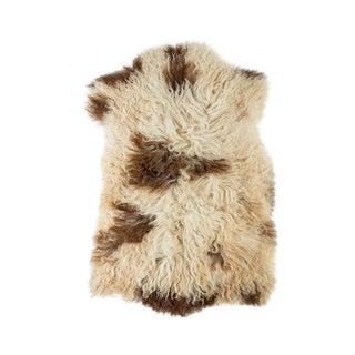 """Contemporary Natural Sheepskin Pelt -1'10""""x2'10"""" For Sale"""