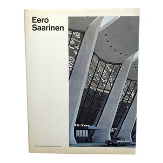 Eero Saarinen, Architect, Book by Yukio Futagawa (Photographer), Rupert Spade (Introduction) For Sale