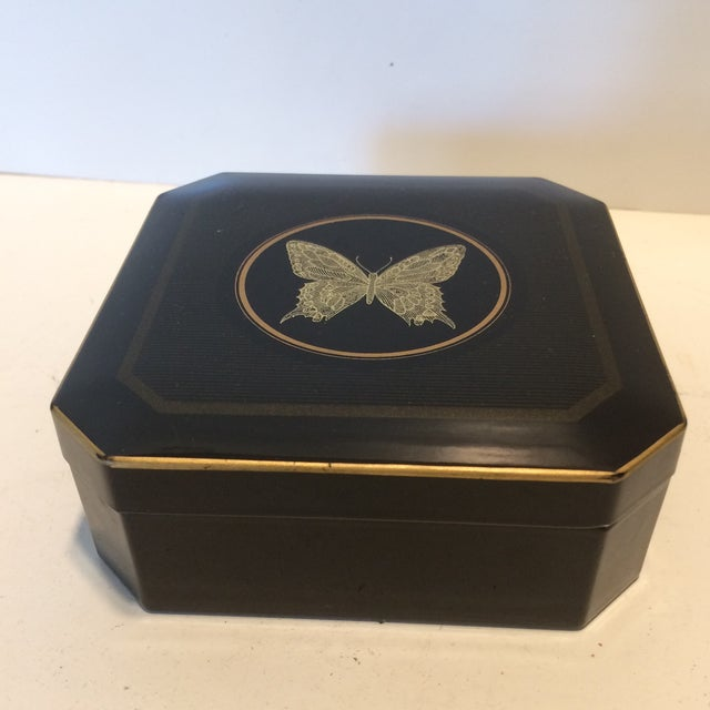 Gold Papillon Otagiri Butterfly Coasters - Set of 6 For Sale - Image 8 of 11
