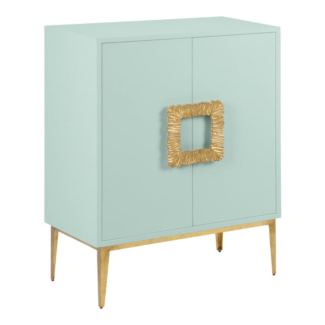 Mitchell Cabinet, Palladian Blue For Sale
