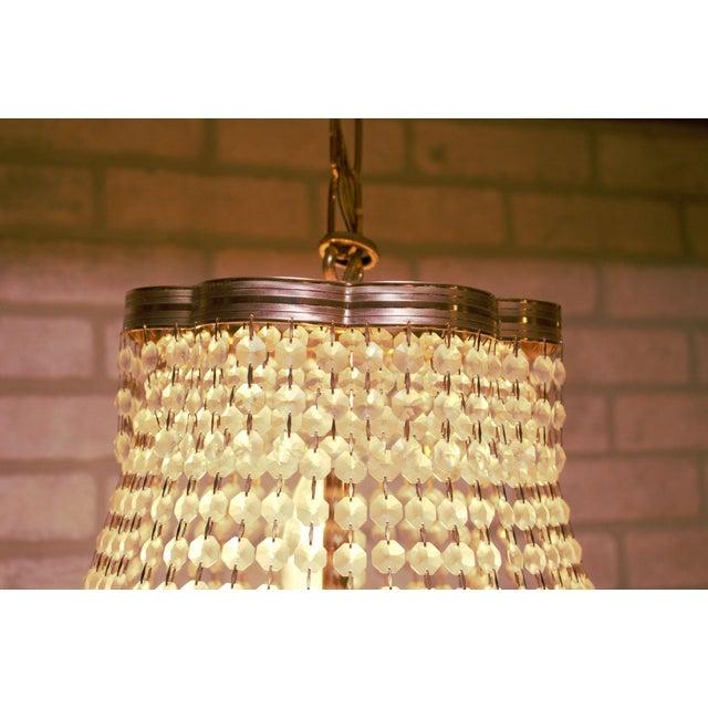 1960s Vintage Swarovski Crystal Chandelier For Sale - Image 5 of 12