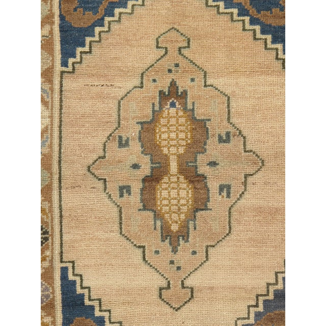 "Traditional Vintage Turkish Yastik Hand Knotted Rug - 2'2"" x 3'4"" For Sale - Image 3 of 3"