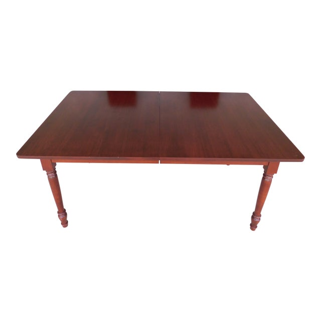 Tom Seely Solid Cherry Country Style Dining Table For Sale