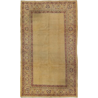 Early 20th Century Antique Indian Amritsar Rug - 5′4″ × 8′10″ For Sale