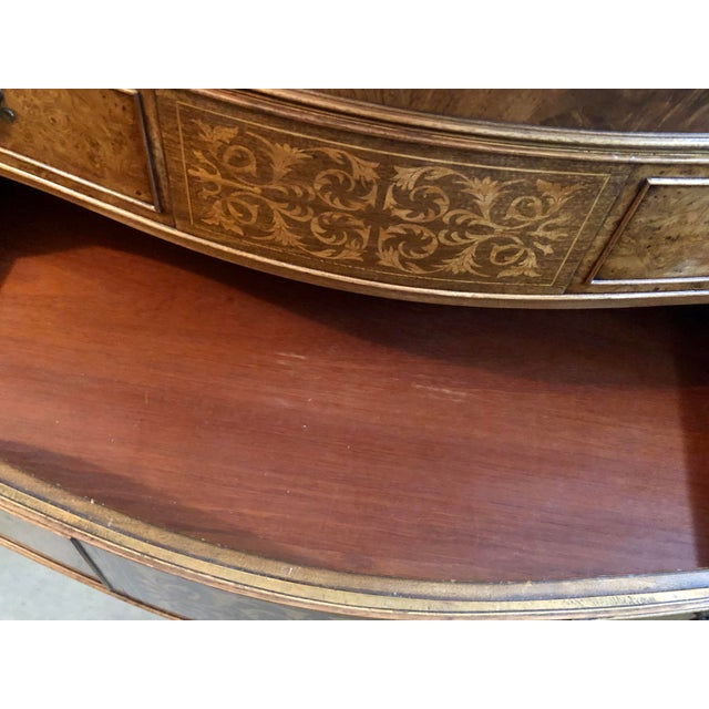 Wood Early 20th Century Louis XV Style Sideboard Buffet For Sale - Image 7 of 12