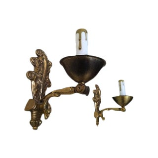 Early-1900s Swedish Sconces - A Pair For Sale
