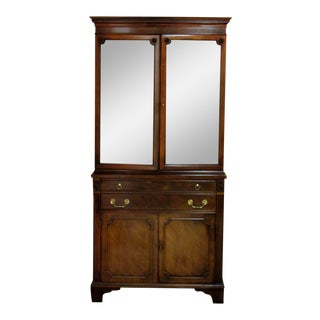 Century Furniture China Cabinet With Tray For Sale